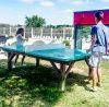 servicio de camping de ping pong